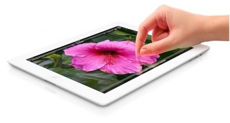 Nový iPad - na první pohled skoro stejný jako první a druhý iPad, stejně drahý, ale ve skutečnosti mnohem výkonnější a zajímavější