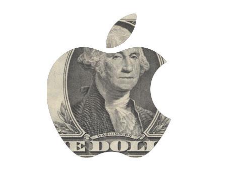 Apple Mac logo dolar