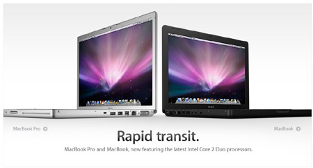 Apple notebooky MacBook a MacBook Pro