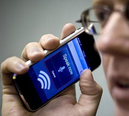 Google rozpoznávání hlasu na Apple iPhone