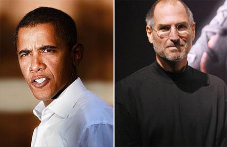 Barack Obama - Steve Jobs