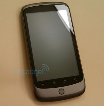 Google Nexus One mobilní telefon
