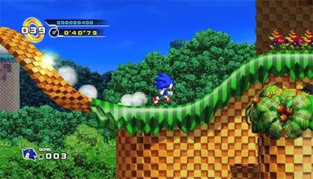 Apple Mac hry E3 Sonic 4