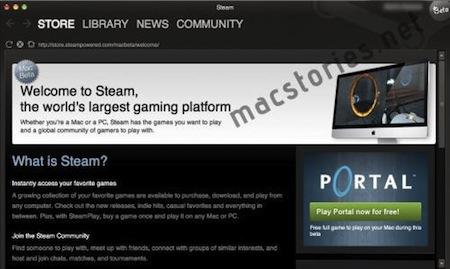 Apple obrázky hry Steam Mac