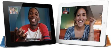 iPad 2 facetime videokonference