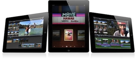 iPad 2 imovie