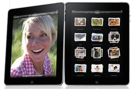 Apple Mac Obrázky iPad blondýnka