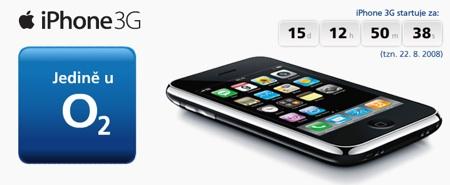 iPhone 3G v ČR
