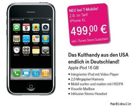 Evropská verze iPhone