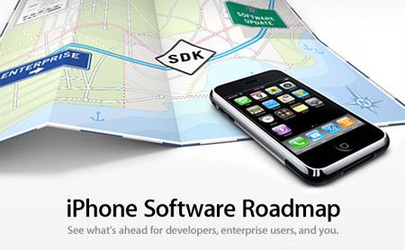 iPhone mapa