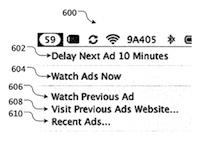 reklama v Mac OS X