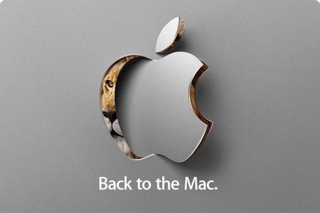 Mac OS X Back to the Mac