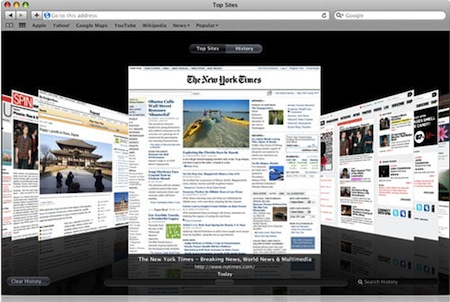 Mac OS X Lion 10.7 Safari Webkit 2