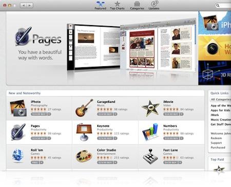 Mac OS X - Mac App Store