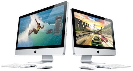 nové počítače iMac Thunderbolt