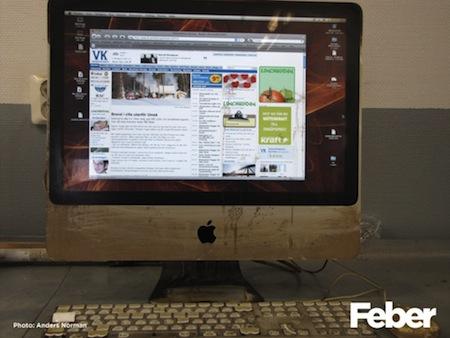 Ohořelý iMac