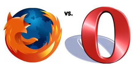 Opera 9.5 vs. Firefox 3