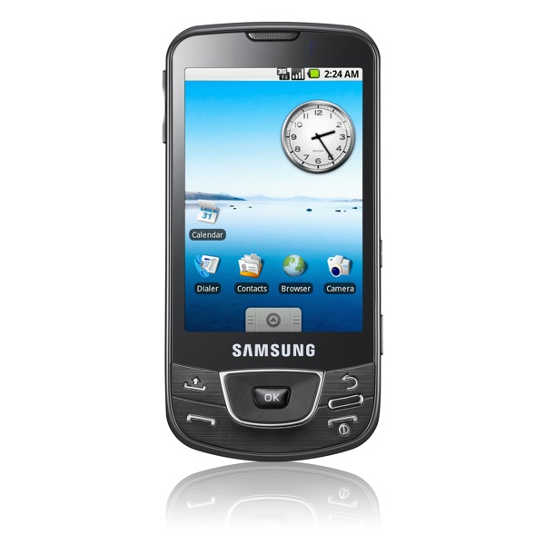 smartphone Samsung i7500 s OS Google Android