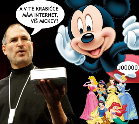 Steve Jobs - Mickey Mouse, Disney