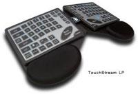 Klávesnice TouchStream