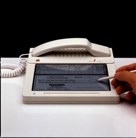 "Studie ""MacPhone"" od designéra Hartmuta Esslinger z roku 1984, foto: Jay Mug"