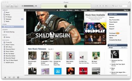 Apple iTunes - online obchod s hudbou a videem, také v České republice